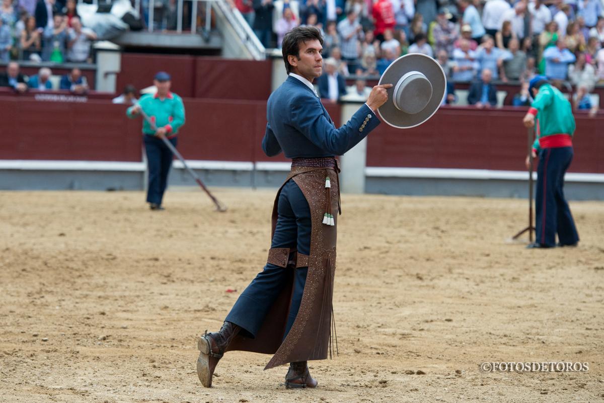 Madrid disfruta con la Tauromaquia de Sergio Galán