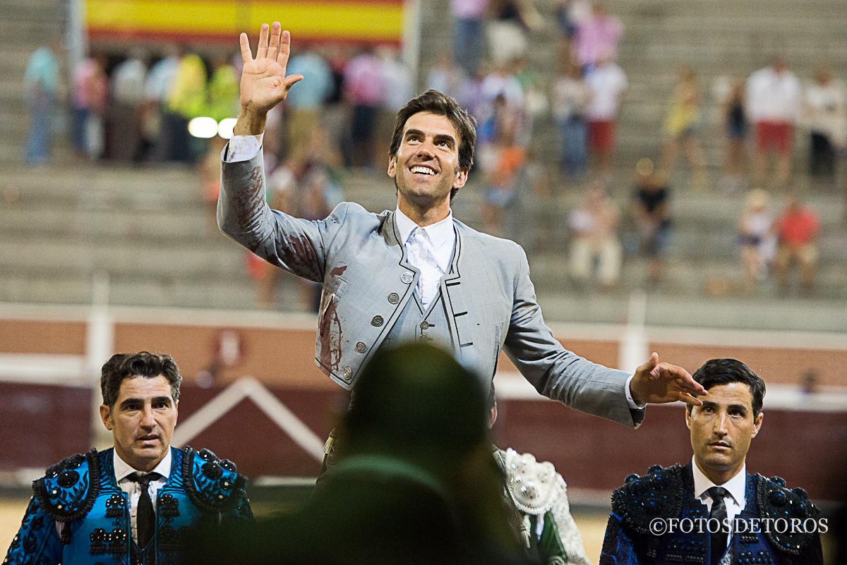 3 Orejas 3, en La Tercera. Rotundo triunfo de Sergio Galán.