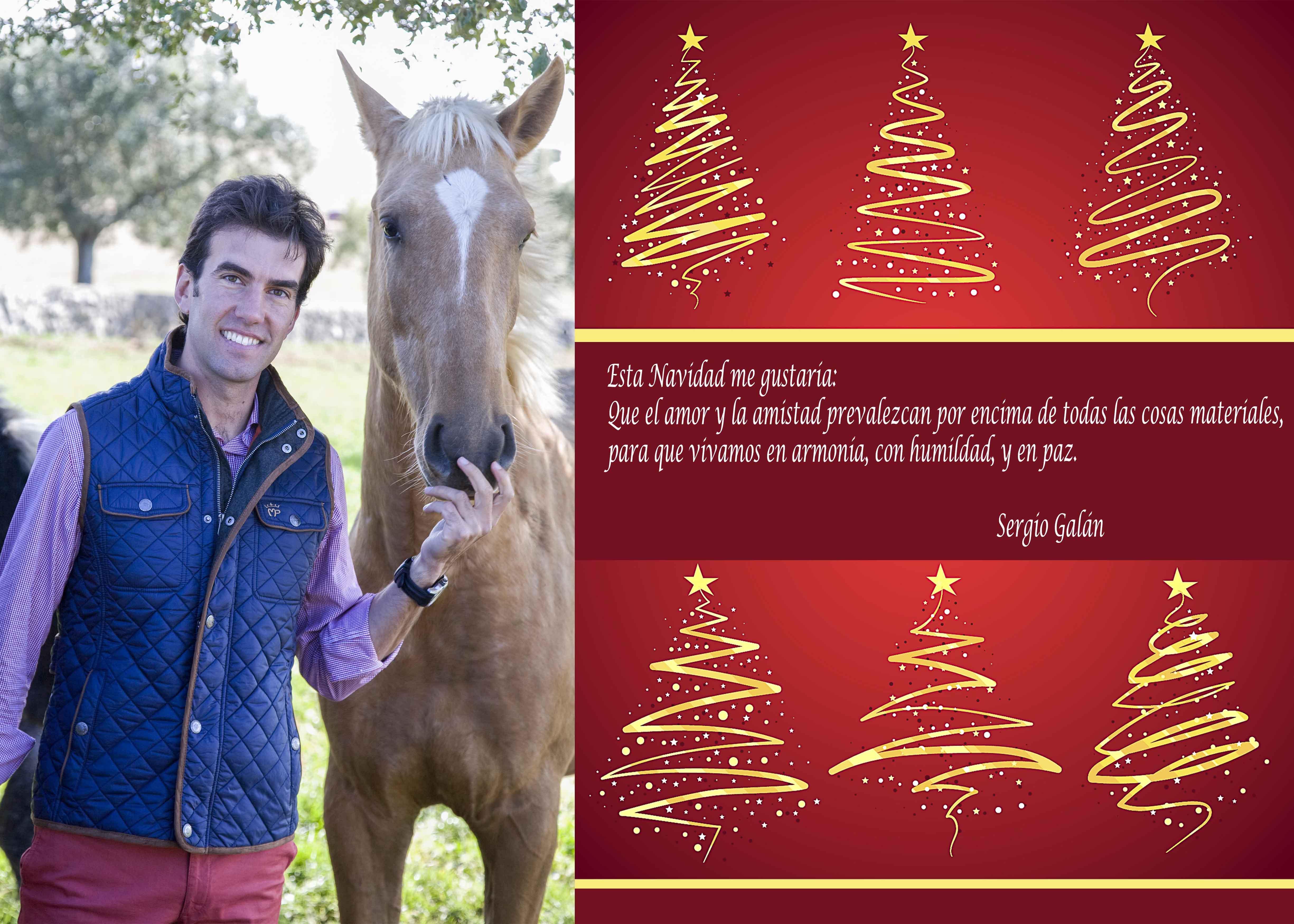 Navidad con Sergio Galán.