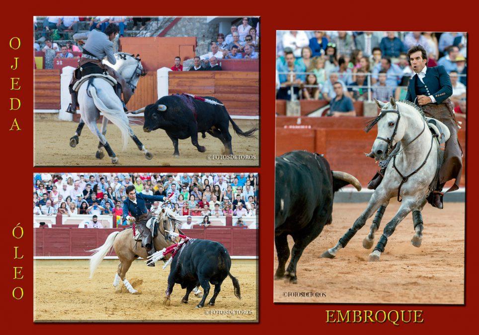 Ojeda, Óleo y Embroque. Los caballos ideales.