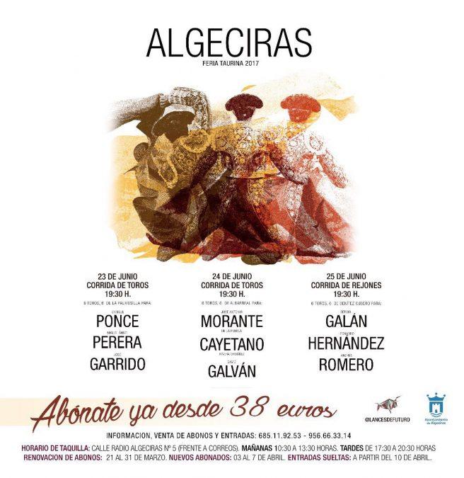 Sergio Galán en la feria de Algeciras