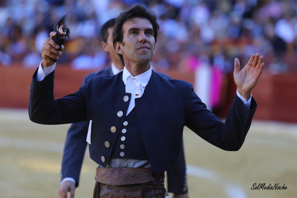 Sergio Galán, una oreja con gran petición de la segunda en Murcia.