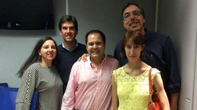 Entrevista a Sergio en las mañanas de La Cope