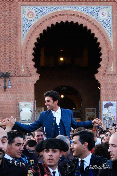 Rotundo Triunfo de Galán que abre su octava puerta grande en Las Ventas con 3 orejas