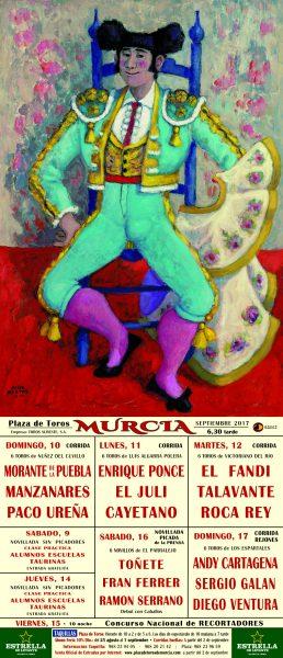 Sergio Galán presente en la Feria de Murcia