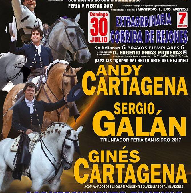 Sergio Galán presente en la Feria de Porzuna (Ciudad Real)