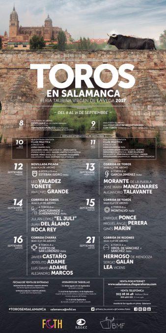 Sergio Galán en la Feria de Salamanca