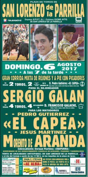 Sergio Galán en San Lorenzo de la Parrilla