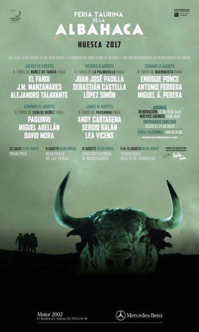 Presentados los carteles de Huesca