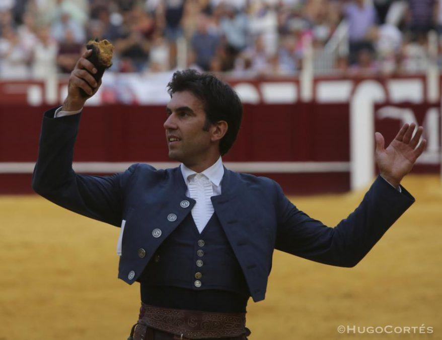 Oreja para Sergio con faen de dos en Málaga