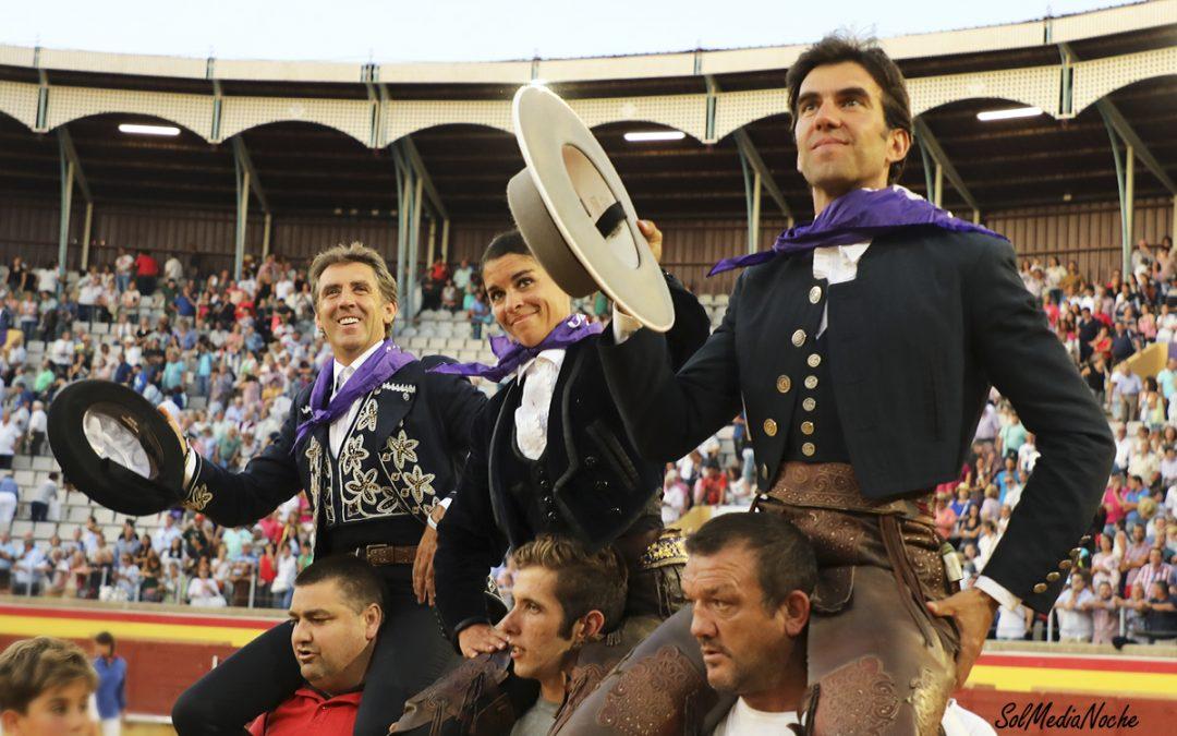 Sergio a hombros en Palencia