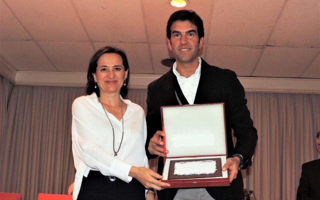 """Sergio Galán recoge el premio """"Miguel Ángel Montañés"""""""