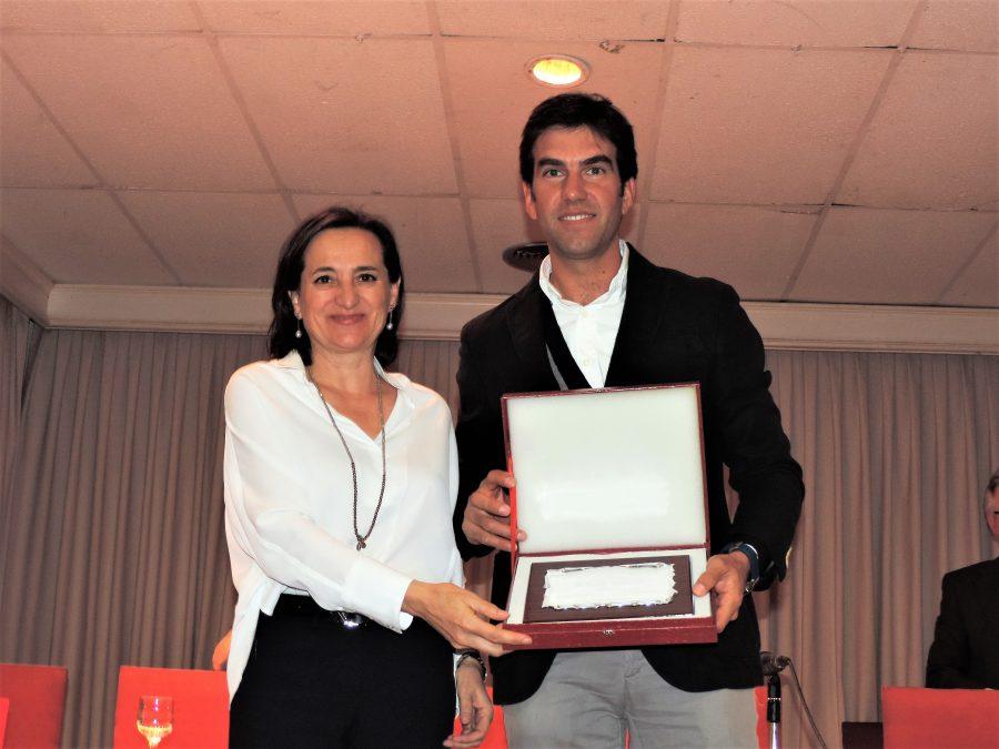 Sergio Galán recoge el premio «Miguel Ángel Montañés»