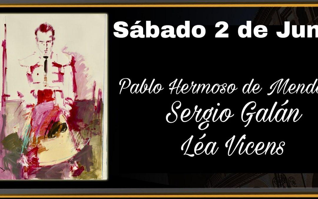 Sergio Galán en la Monumental del Las Ventas