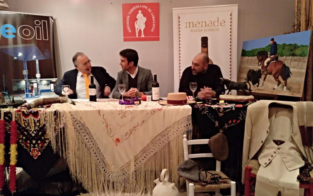 Sergio con la Asociación de Caballistas de Tordesillas