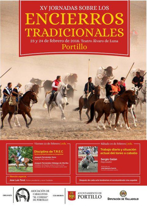 Sergio Galán en la XV Jornada de la Asoc. de Caballistas «El Comeso del Portillo»