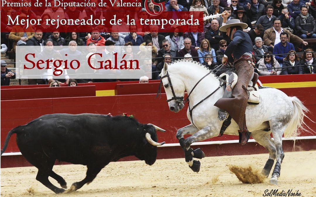 Sergio Galán, mejor rejoneador de la temporada por la Diputación de Valencia