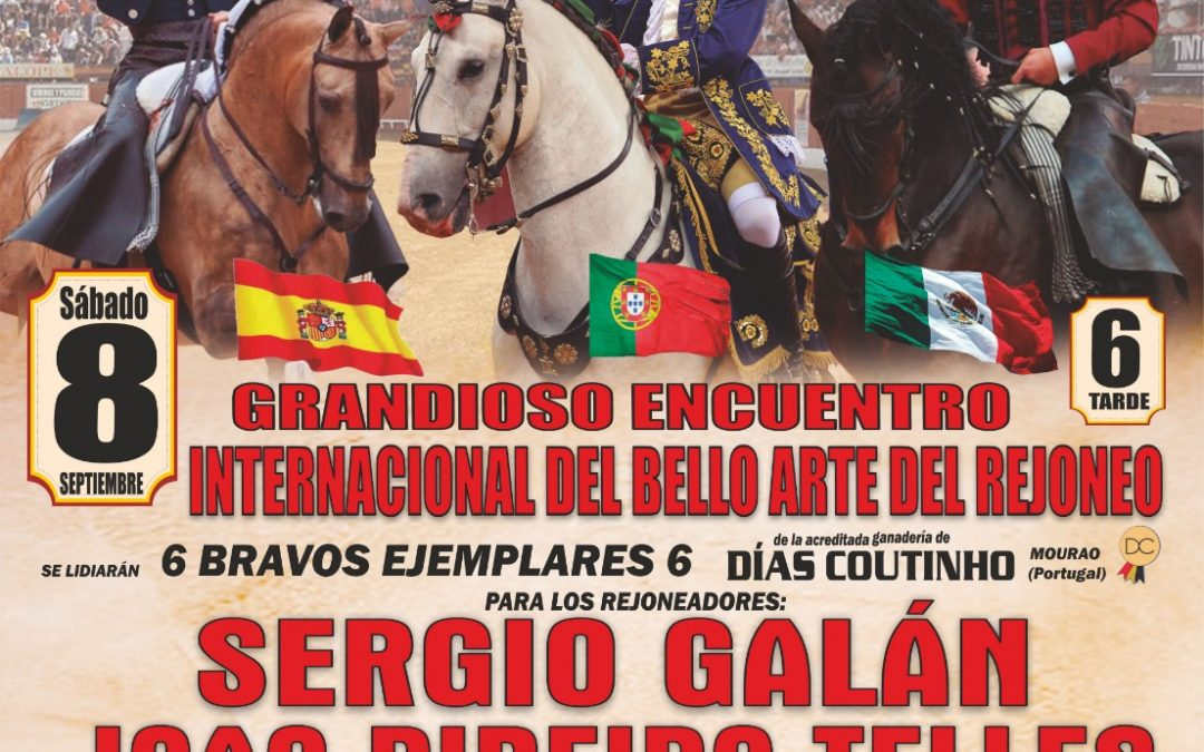 Rejoneo internacional en Andújar (Jaén)