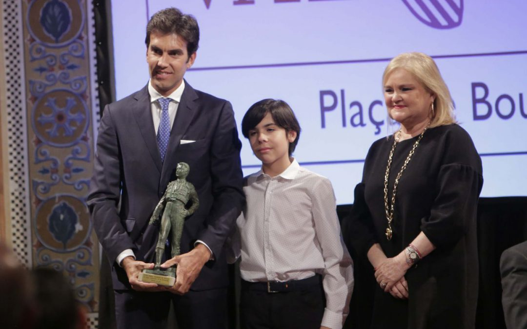 Sergio Galán recoge el Premio al Mejor Rejoneador en Valencia