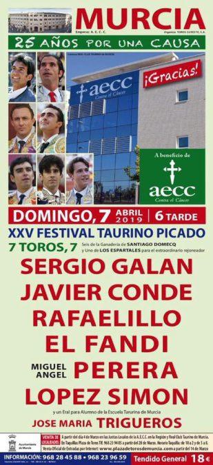 Festival de Murcia, contra el cáncer
