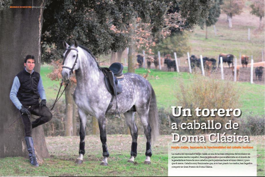Torero a caballo de Doma Clásica