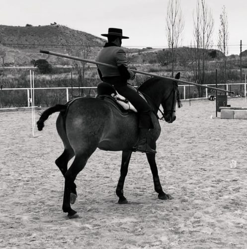 Tres campeones en Equitación de Trabajo con el hierro de Sergio Galán