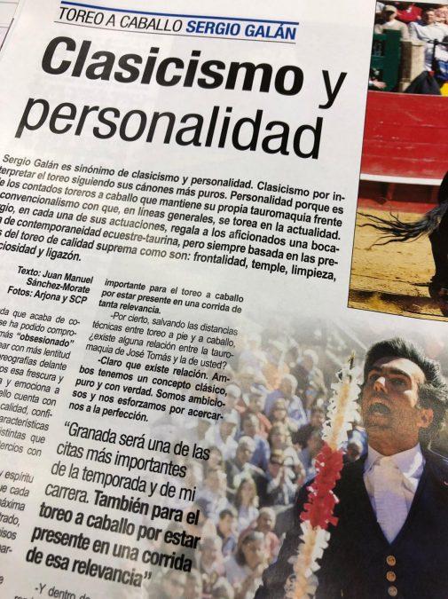 """""""Clasicismo y personalidad"""", en Aplausos"""