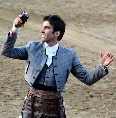 Sergio Galán actuará en Ejea de los Caballeros en sustitución de Diego Ventura